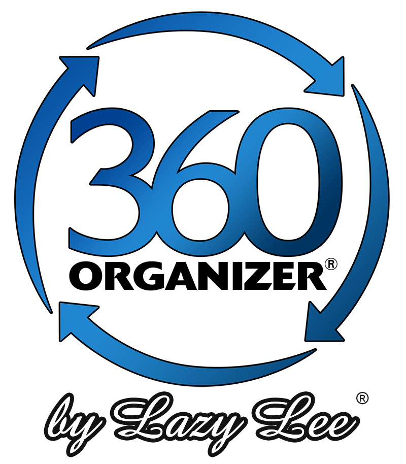 The 360 organizer rotating closet system