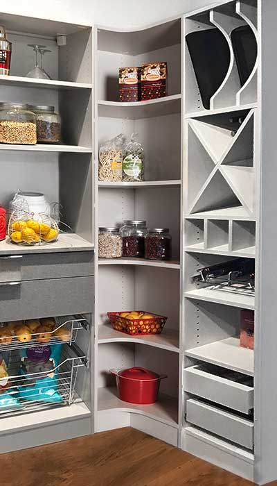 walk in pantry organization accessories