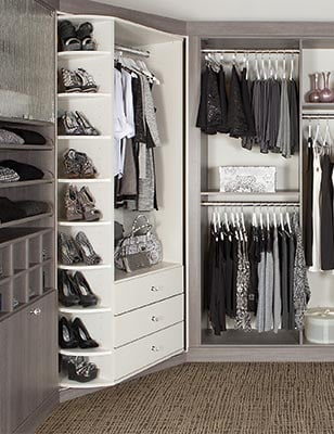 the 360 Organizer valet free standing closets organization systems and closet organizer