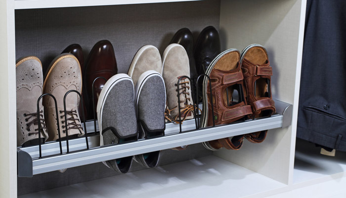 Pull Out Shoe Organizer For 12 Pairs Of Shoes Walk In Closet ...