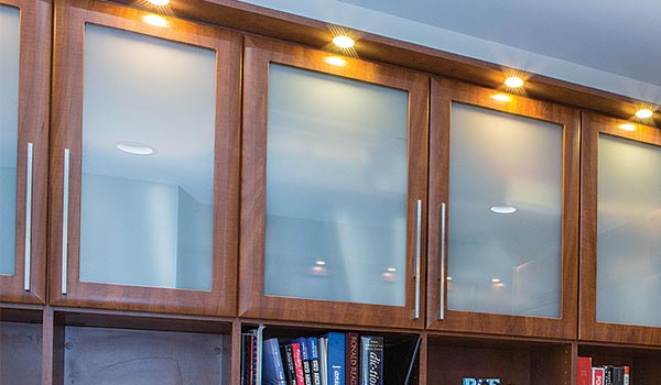 Frosted Glass Doors for Cabinets