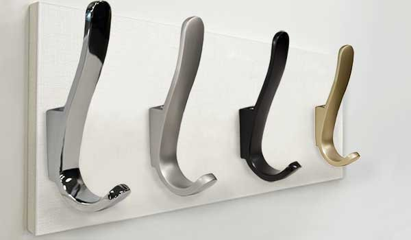 Standard cleat with hooks closet accessories for custom closet system