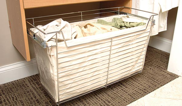 Canvas Liner for Wire Basket Available in Nine Sizes