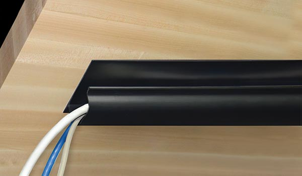 Plastic cover for wires
