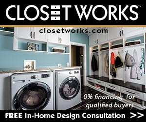 complimentary appointment and 0% financing on your closet purchase