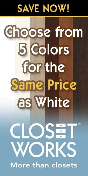 color your closet savings going on now