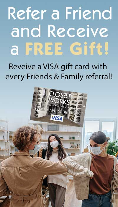 Earn a VISA gift card with every referral