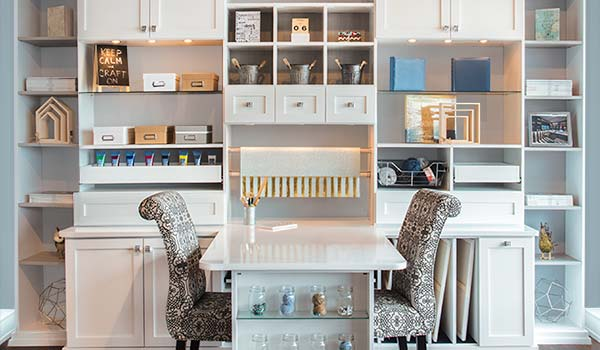 Craft Room Organizer Systems: Closet Works Craft Room Ideas For Art Studios And Craft Rooms