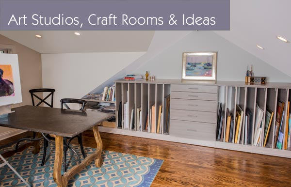 Art Studios And Craft Rooms With Custom Closets, Closet Organizers And  Storage Systems