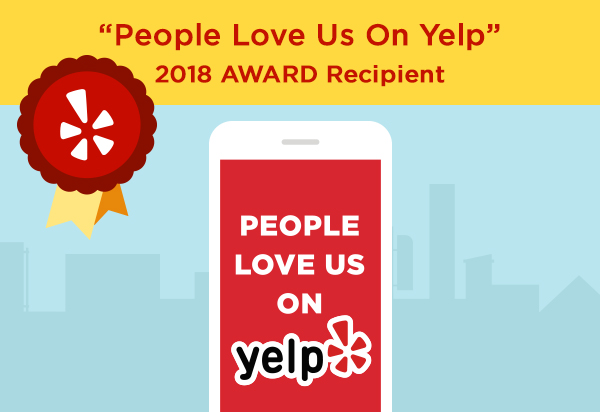 closet works wins people love us on yelp award 2018