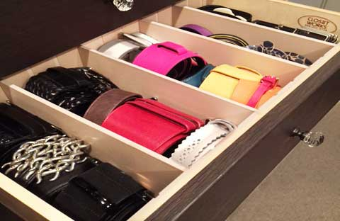 How To Organize And Store Belts