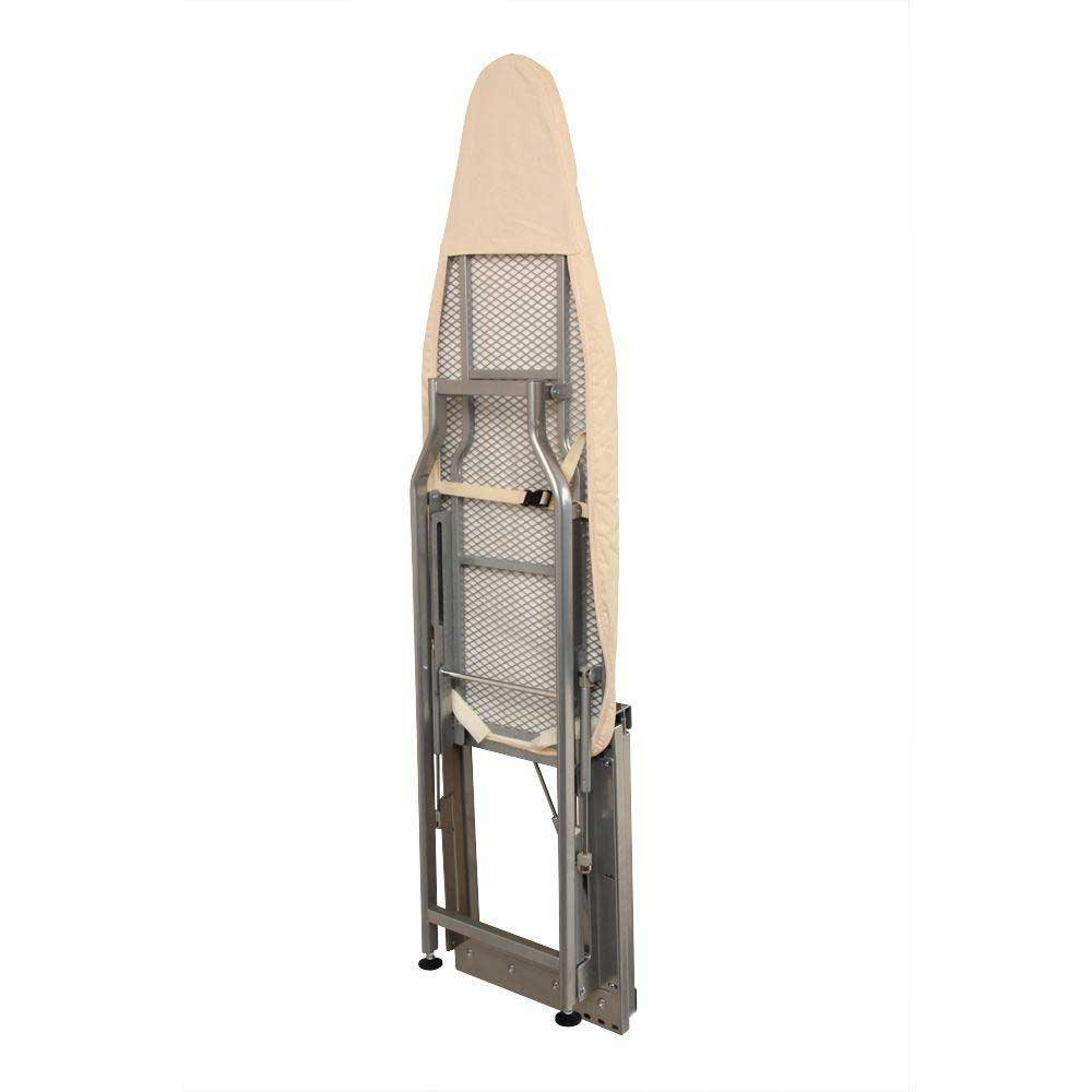 folding ironing board with mechanism - closed