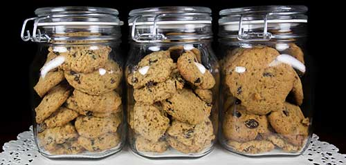 soft cookies should be kept in air tight containers
