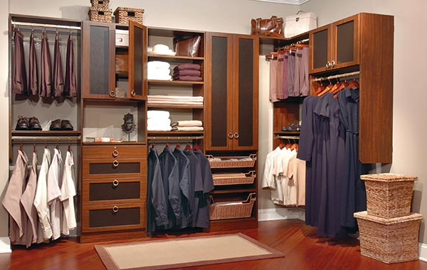 A well designed closet makes you more efficient, confident, and stylish