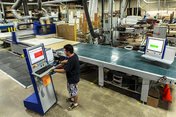 Closet Works production facility