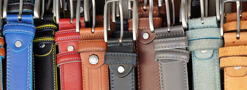 How to store belts in closet