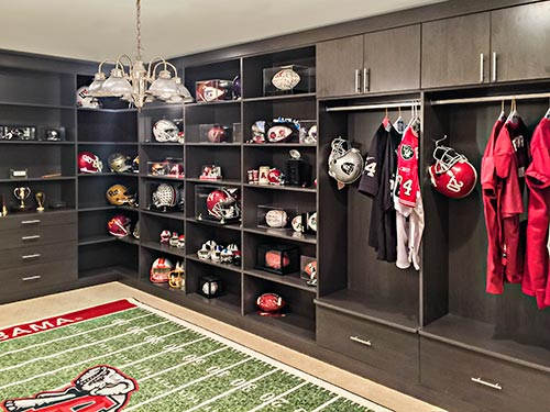 A Sports Room Makes A Great Man Cave