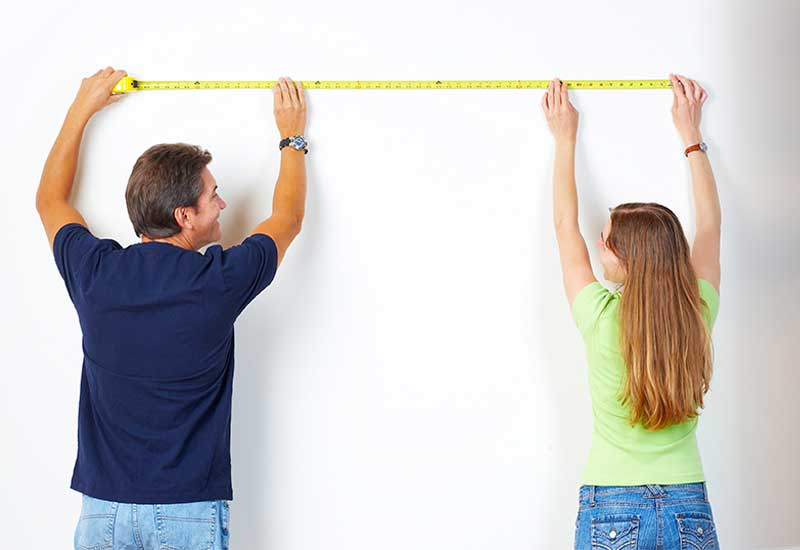 accurate closet measurements are the first step in building closet system