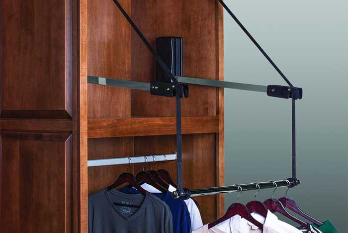 Closet Systems For High Ceiling Storage