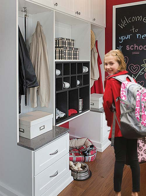 back door organization for school success