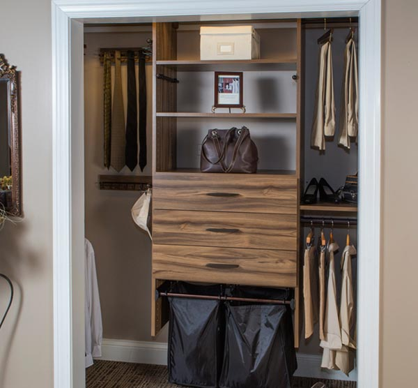 improve your closet organization with a professionally designed closet organization system