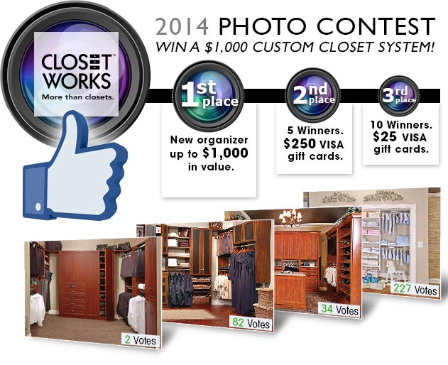 Closet Works $1000 photo contest