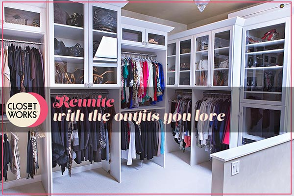 A good closet organization system keeps your wardrobe accessible