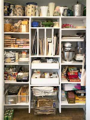 the best home organization will include a pantry closet