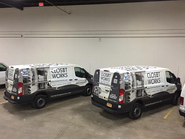 Closet Works adds 2 new vehicles to the fleet