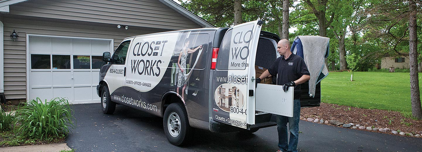 The most professional installation team of closet installers in the industry