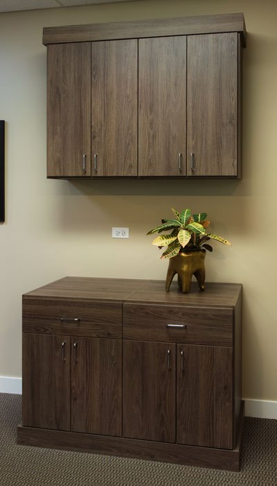 commercial office cabinets for dental office with standard handles