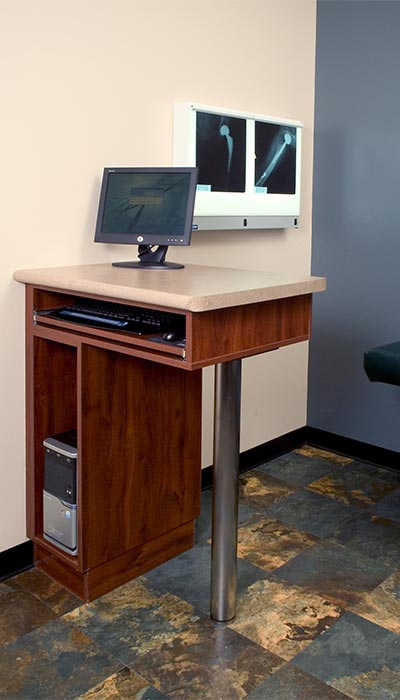 computer desk for medical office building with office cabinets