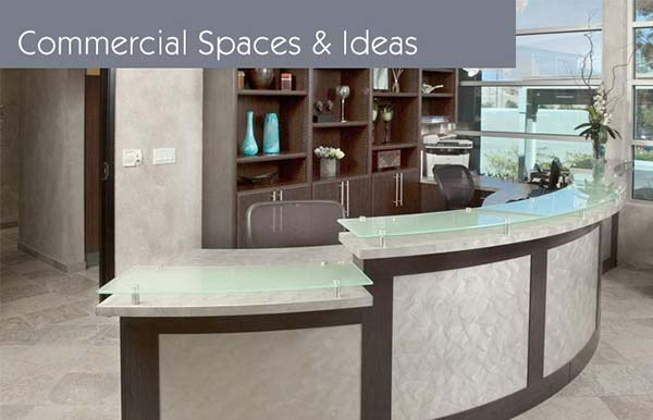 Custom closet organization systems and closets for commercial spaces