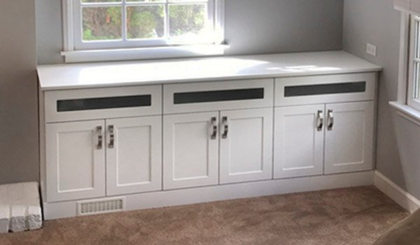 single cabinet credenza style media center