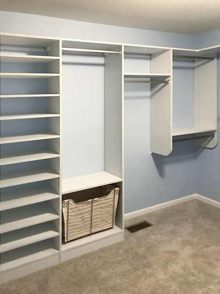Canvas Tfl Walk In Closet System