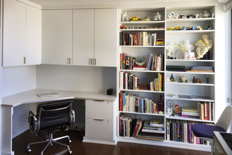 shelves for walls in home office are essentail to good home storage