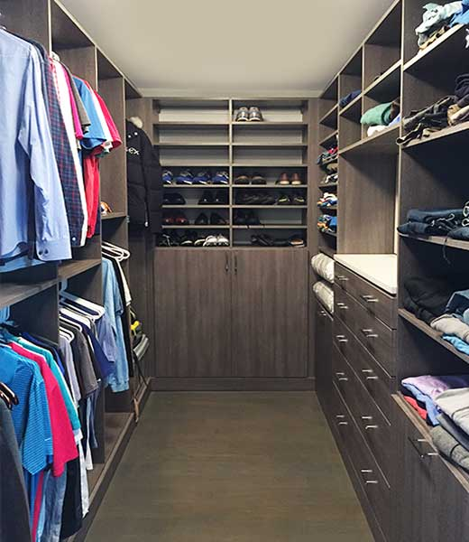 shared closet organization system