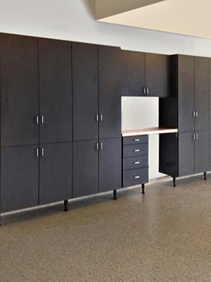 garage cabinets adds storage and keep garage clean