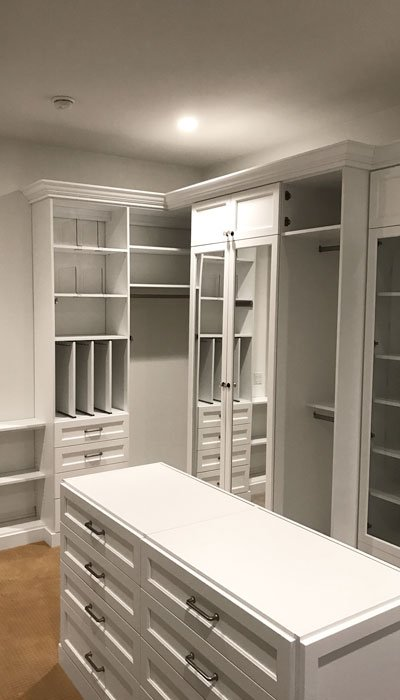 Closet Design Ideas For Jewelry In Large Walk Island Dresser