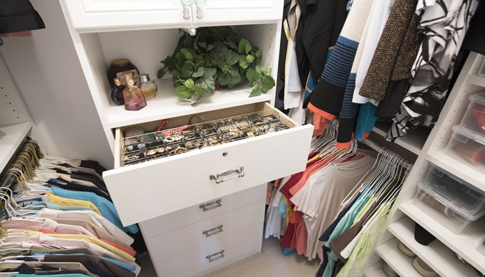 adding a jewelry drawer organizer keeps jewelry safe and tangle free