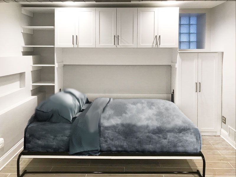Queen Horizontal Murphy Bed