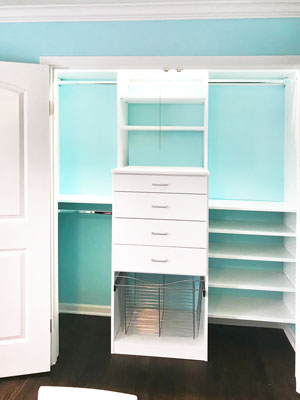 reach in closet for girls bedroom