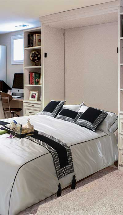 Murphy bed for holiday guests