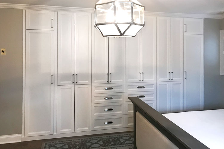 built in wardrobe for bedroom storage