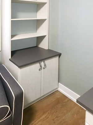 home office wall unit storage