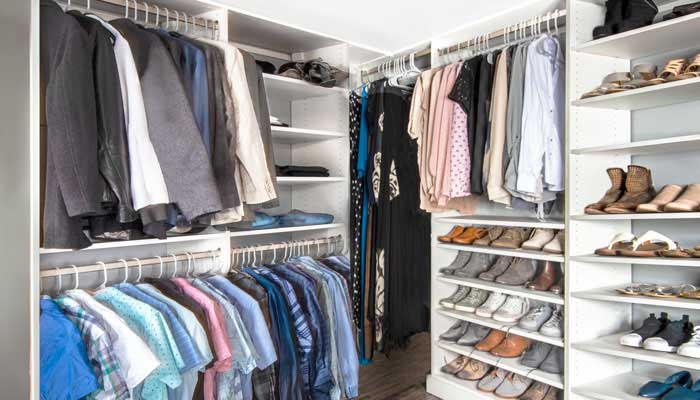 basement room ideas for closet hanging