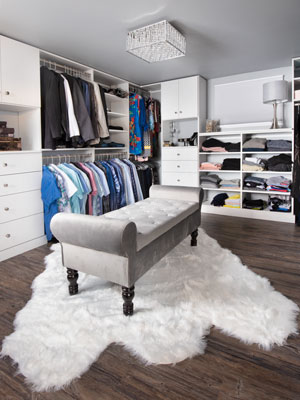basement to beautiful master closet design