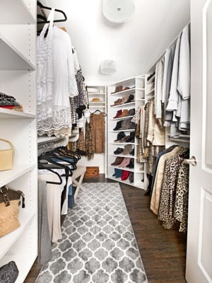 basement remodel for additional clothing closet