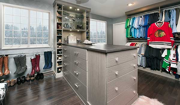 open closets ideas