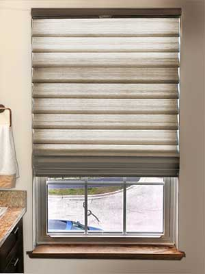 bottom up Hunter Douglas window fashion